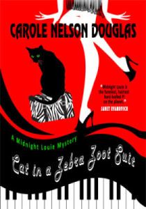 NEW! Cat in a Zebra Zoot Suit